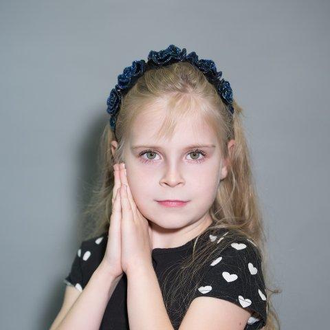 Кузеева Диана 9 лет. Голосование за Маленькую Мисс Ульяновск