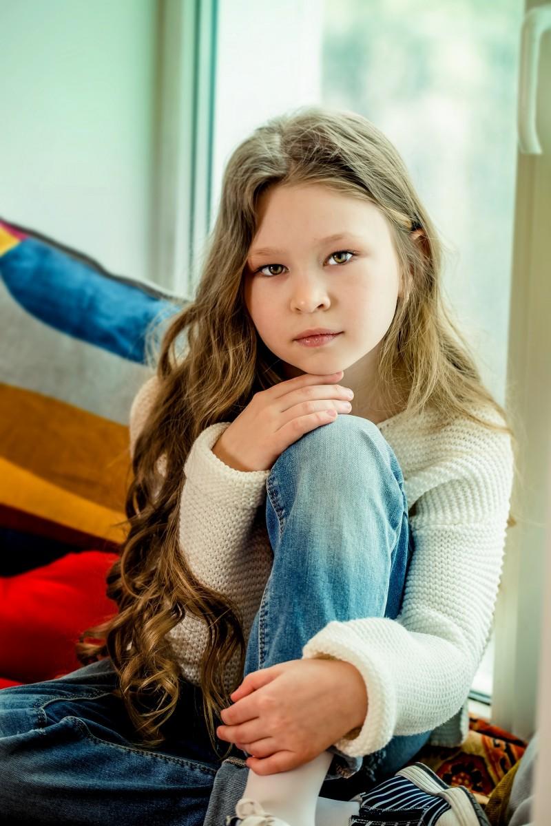Мухаметшина Есения 10 лет. Голосование за Мини Мисс Ульяновск