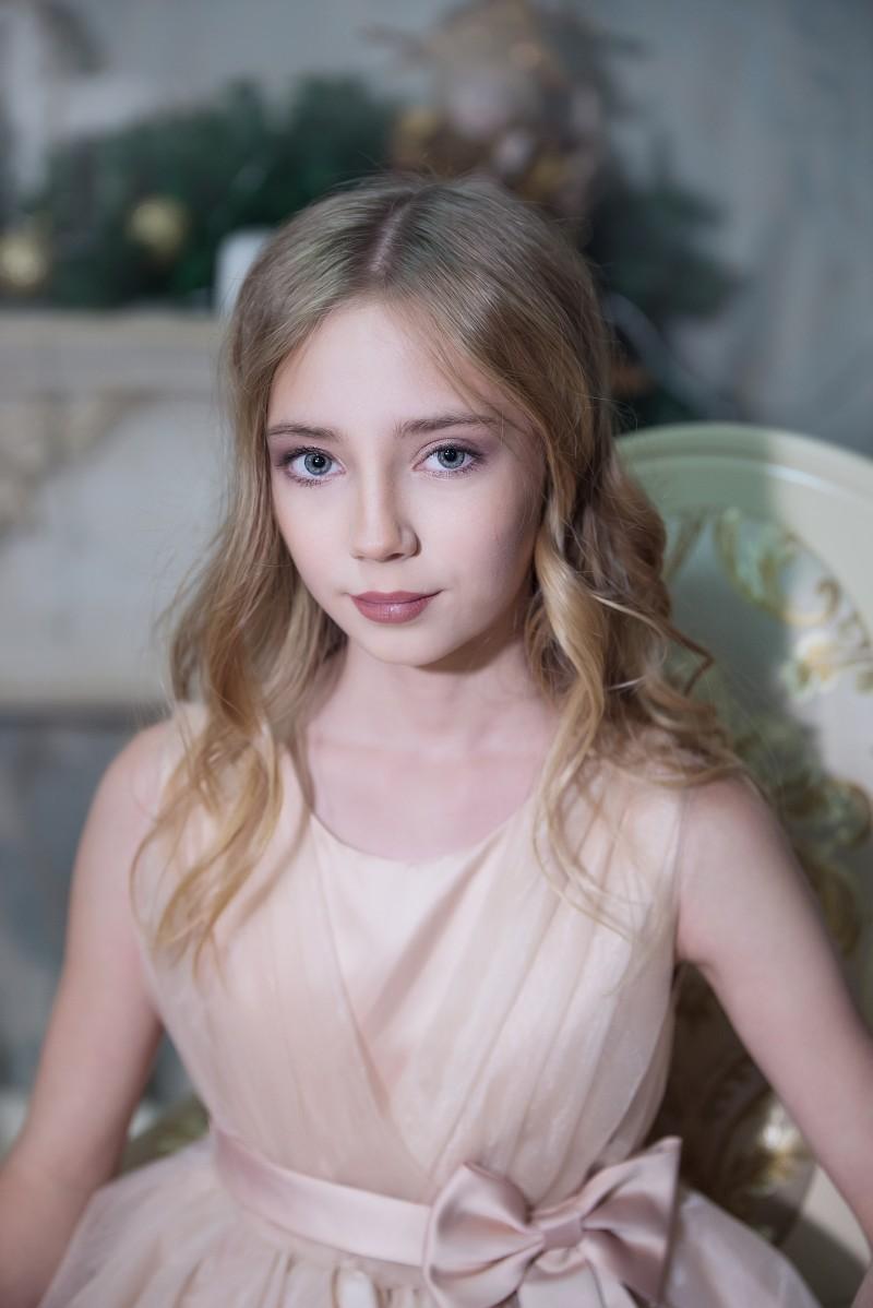 Герасимова Милена 12 лет. Голосование за Юную Мисс Ульяновск