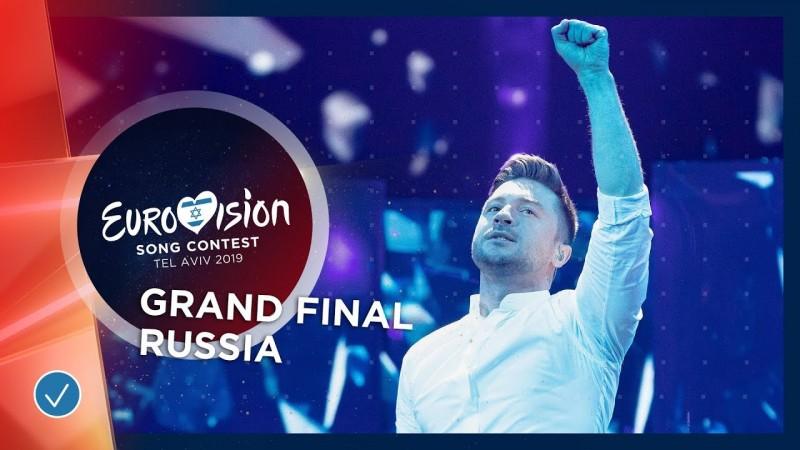 Выступление Сергея Лазарева на Евровидении 2019 онлайн. Занял 3 место - Eurovision 2019
