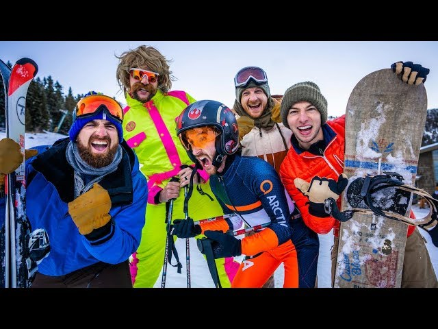 Skiing Stereotypes   Dude Perfect смотреть онлайн в хорошем качестве