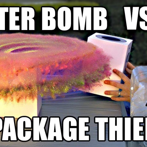 Package Thief vs. Glitter Bomb Trap смотреть онлайн в хорошем качестве
