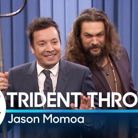 Trident Throwing with Jason Momoa смотреть онлайн в хорошем качестве
