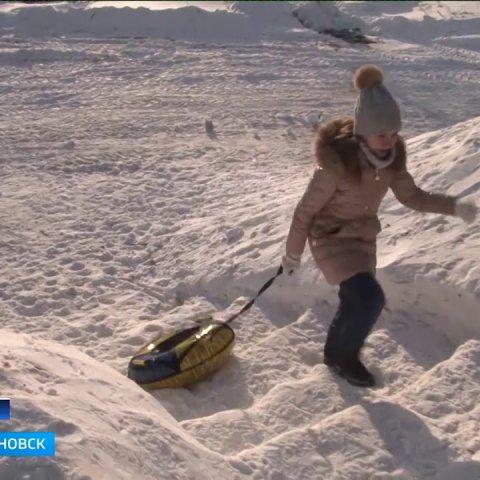 ГТРК Ульяновск Вместо парковки – детская горка новости сегодня