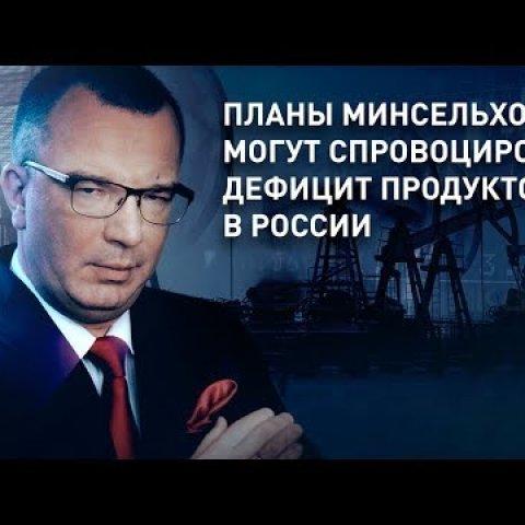 Дефицит продуктов в России могут спровоцировать Планы Минсельхоза РФ