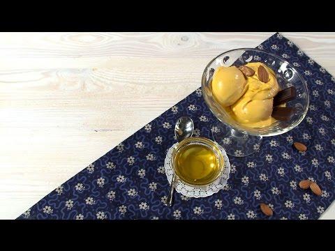 Кулинария: Рецепт облепихового джелато с медом в мороженице от Ольги Шенкерман