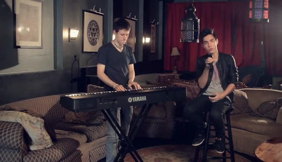 Видеоклип: Treasure / Get Lucky MASHUP (Sam Tsui & Kurt Schneider)