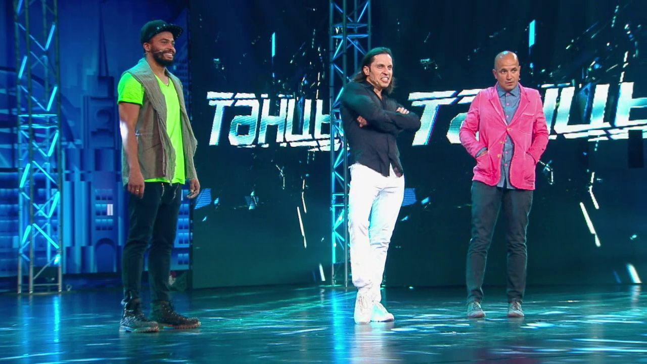 Шоу на ТНТ Танцы: Робот (Александр Ревва) (выпуск 1)