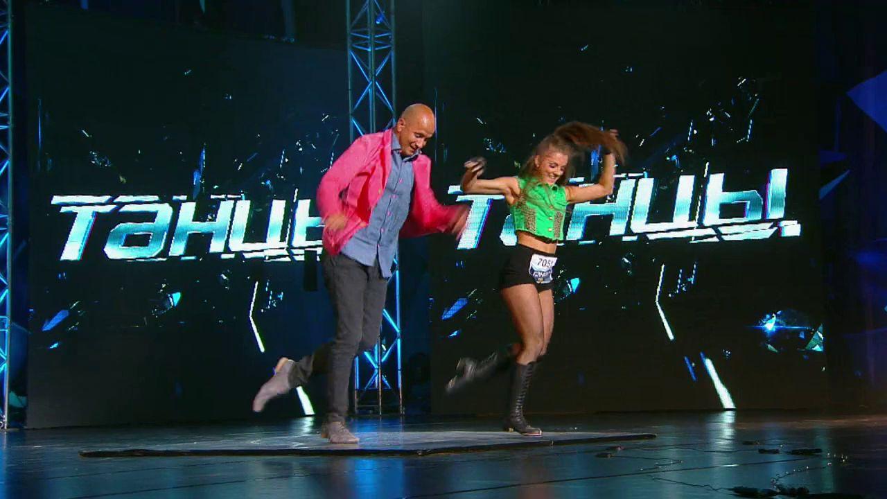 Шоу на ТНТ Танцы: Юлиана Бухольц (выпуск 1)