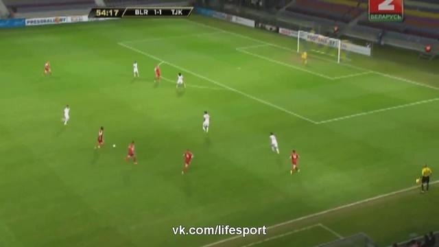 Видео Беларусь 6:1 Таджикистан HD