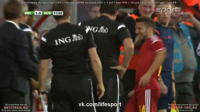 Видео Бельгия 1:0 Австралия | Гол Мертенса HD