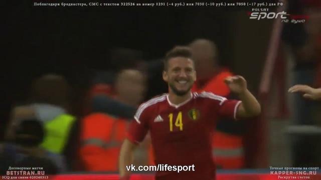 Видео Бельгия 2:0 Австралия HD
