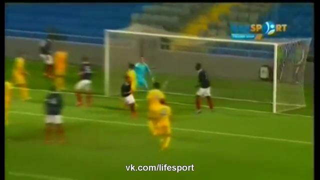 Видео Казахстан U-21 - Франция U-21 1:5 HD