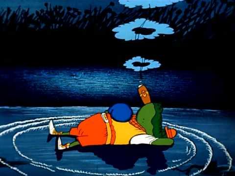 Мультфильм Доктор Айболит 6. Крокодил и солнце.