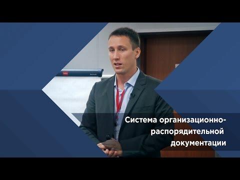 Павел Сивожелезов. Система организационно распорядительной документации