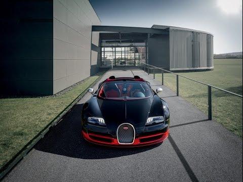 Как собирают Bugatti Veyron 16.4 Grand Sport