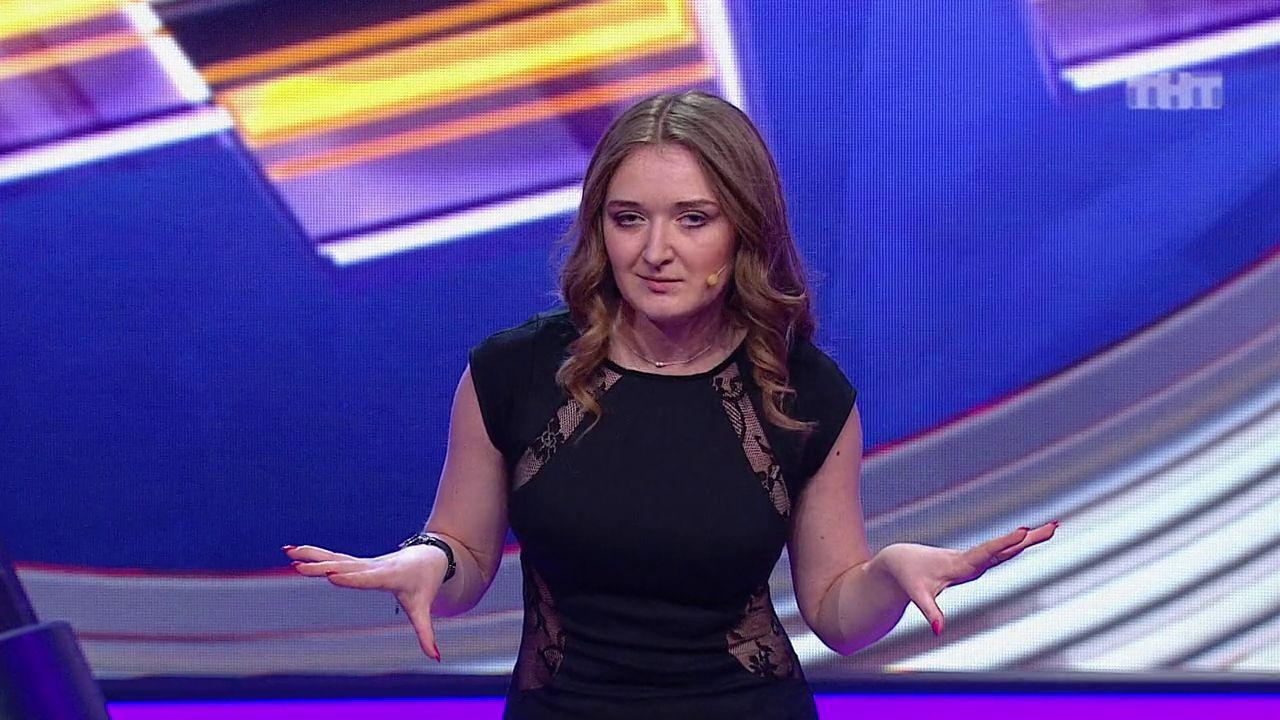 Шикарное видео. Comedy Баттл. Последний сезон - Саша (1 тур) 03.04.2015