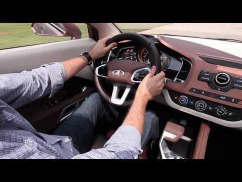 Lada X-Ray Concept официальное видео HD - Лада