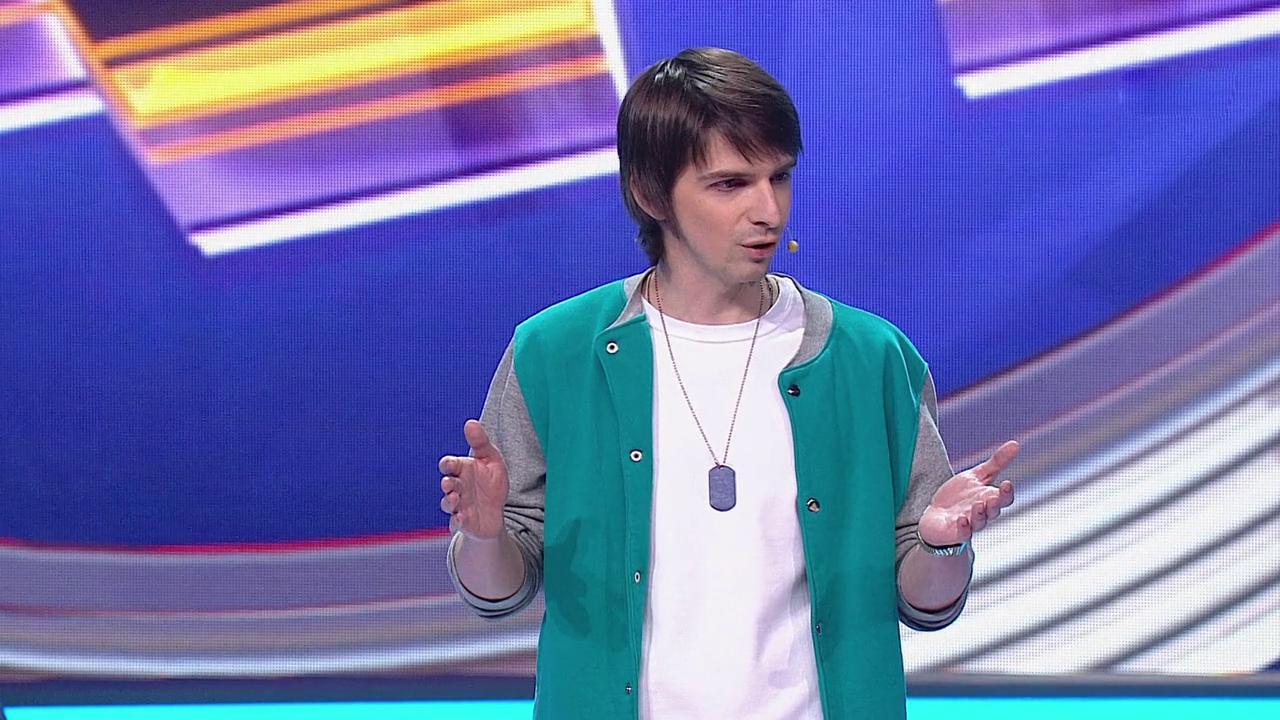 Comedy Баттл. Последний сезон - Андрей Шарапов (1 тур) 17.04.2015
