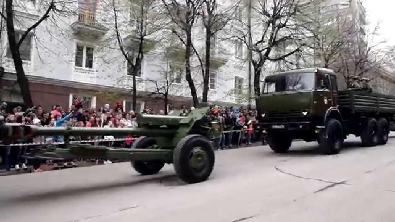 Парад Победы в Ульяновске 2015 видео