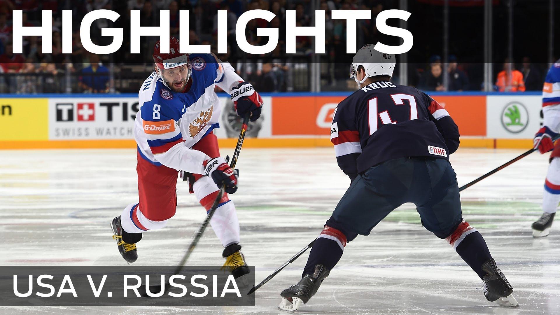 Russia roll past USA | #IIHFWorlds 2015